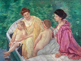 The Bath | Cassatt | Painting Reproduction