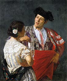 Offering the Panale to the Bullfighter | Cassatt | Painting Reproduction