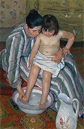 The Child's Bath | Cassatt | Painting Reproduction
