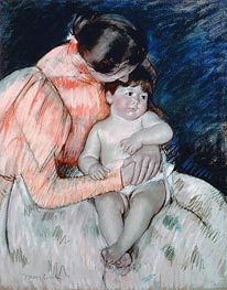 Mother and Child | Cassatt | Gemälde Reproduktion