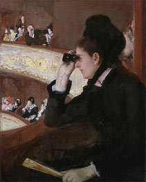 In the Loge | Cassatt | Gemälde Reproduktion