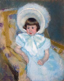 Portrait of Mademoiselle Louise-Aurore Villeboeuf, 1902 by Cassatt | Painting Reproduction