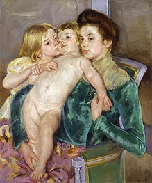 The Caress | Cassatt | Painting Reproduction