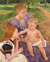 The Family, 1893 by Cassatt | Painting Reproduction