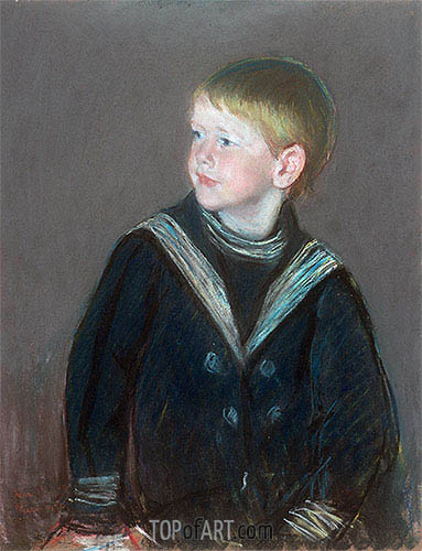 Sailor Boy: Portrait of Gardner Cassatt as a Child, 1892 | Cassatt | Gemälde Reproduktion