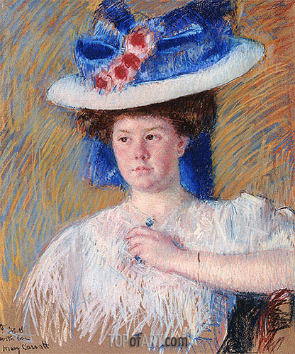 Portrait of Helen Sears, 1907 | Cassatt | Gemälde Reproduktion