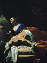 Judith, undated by Mattia Preti | Painting Reproduction