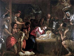 The Adoration of the Shepherds | Mattia Preti | Gemälde Reproduktion