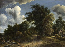 Woodland Road | Meindert Hobbema | Painting Reproduction