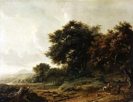 Landscape | Meindert Hobbema | Painting Reproduction