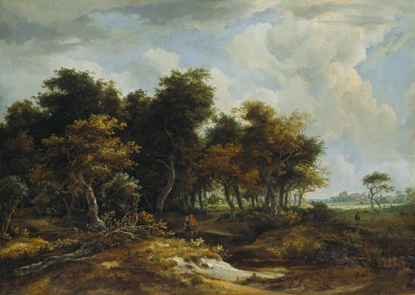 Entrance to the Forest, Undated | Meindert Hobbema | Painting Reproduction