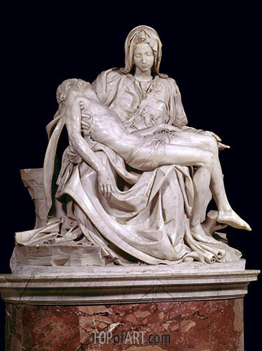 Pieta, 1498/99 | Michelangelo | Painting Reproduction