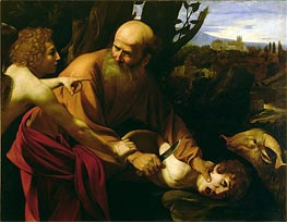 The Sacrifice of Isaac | Caravaggio | Painting Reproduction