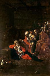 Adoration of the Shepherds | Caravaggio | Painting Reproduction
