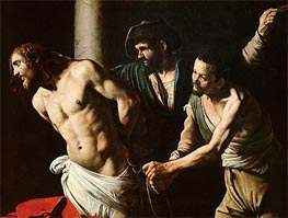 The Flagellation of Christ | Caravaggio | Painting Reproduction