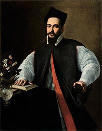 Portrait of Maffeo Barberini | Caravaggio | Painting Reproduction