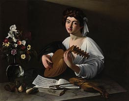 The Lute Player | Caravaggio | Painting Reproduction
