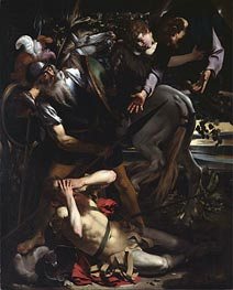 The Conversion of St. Paul | Caravaggio | Painting Reproduction