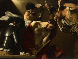 Crowning with Thorns | Caravaggio | Painting Reproduction