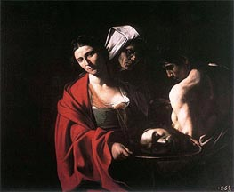 Salome with the Head of Saint John the Baptist, c.1608/10 von Caravaggio | Gemälde-Reproduktion