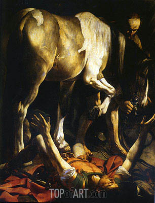 The Conversion of Saint Paul, c.1600/01 | Caravaggio | Painting Reproduction