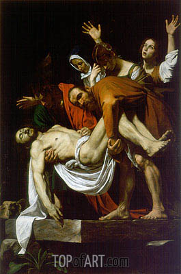 The Entombment (Deposition), c.1602/04 | Caravaggio | Painting Reproduction