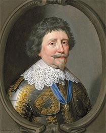 Portrait of Frederik Hendrik, Prince of Orange, Undated von Michiel Jansz Miereveld | Gemälde-Reproduktion