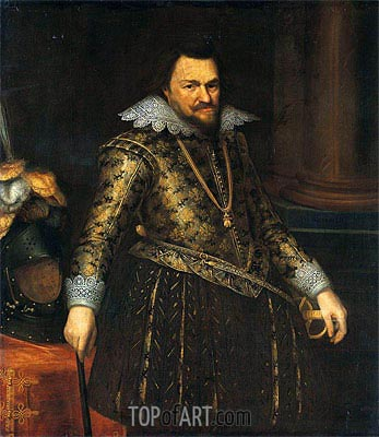 Philip William, Prince of Orange, Undated | Michiel Jansz Miereveld | Painting Reproduction