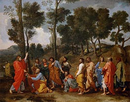 Ordination, c.1636/40 by Nicolas Poussin | Painting Reproduction