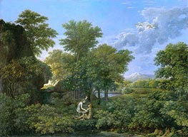 Spring (The Garden of Eden), c.1660/64 by Nicolas Poussin | Painting Reproduction