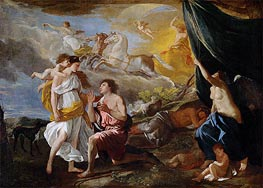 Selene and Endymion | Nicolas Poussin | Painting Reproduction