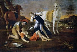 Tancred and Erminia | Nicolas Poussin | Gemälde Reproduktion