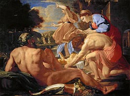 Moses Abandoned | Nicolas Poussin | Painting Reproduction