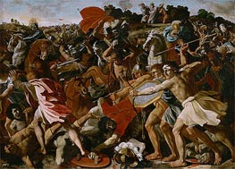 Victory of Joshua over the Amalekites | Nicolas Poussin | Gemälde Reproduktion