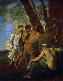 The Arcadian Shepherds (Et in Arcadia Ego) | Nicolas Poussin | Gemälde Reproduktion
