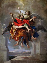 The Vision of St. Paul | Nicolas Poussin | Painting Reproduction
