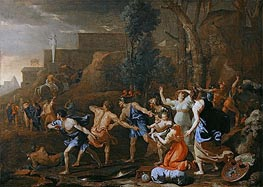 The Saving of the Infant Pyrrhus, 1634 by Nicolas Poussin | Painting Reproduction