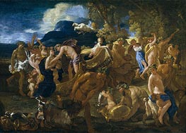 Bacchanal, c.1625/26 by Nicolas Poussin | Painting Reproduction