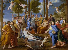 Parnassus, c.1630/31 by Nicolas Poussin | Painting Reproduction