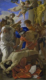 Martyrdom of Saint Erasmus, 1628 by Nicolas Poussin | Painting Reproduction