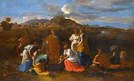 Moses Rescued from the Water | Nicolas Poussin | Painting Reproduction
