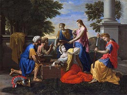 Discovery of Achilles on Skyros | Nicolas Poussin | Painting Reproduction