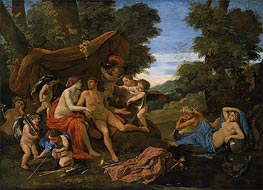 Mars and Venus, c.1630 by Nicolas Poussin | Painting Reproduction