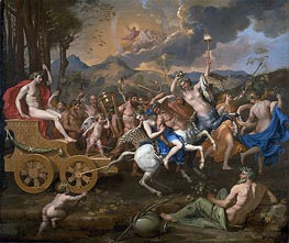 The Triumph of Bacchus, c.1635/36 by Nicolas Poussin | Painting Reproduction