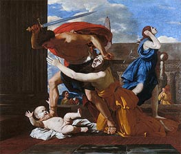 The Massacre of the Innocents | Nicolas Poussin | Painting Reproduction