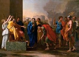 The Continence of Scipio | Nicolas Poussin | Painting Reproduction