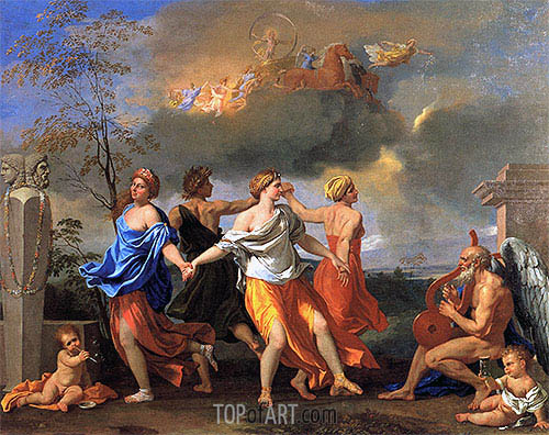 Dance to the Music of Time, c.1634/36 | Nicolas Poussin | Painting Reproduction