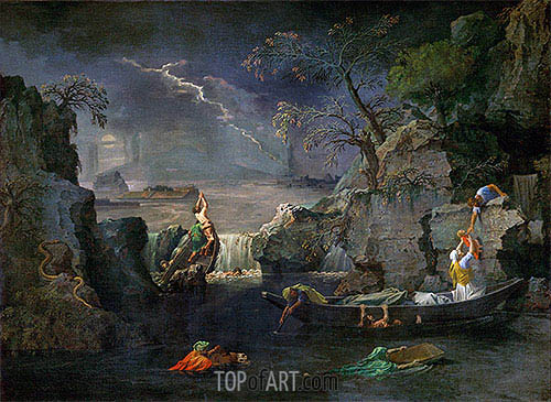Winter (The Flood), c.1660/64   Nicolas Poussin   Painting Reproduction