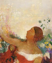 Predestined Child, c.1904/05 von Odilon Redon | Gemälde-Reproduktion