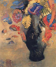 Flowers | Odilon Redon | Painting Reproduction